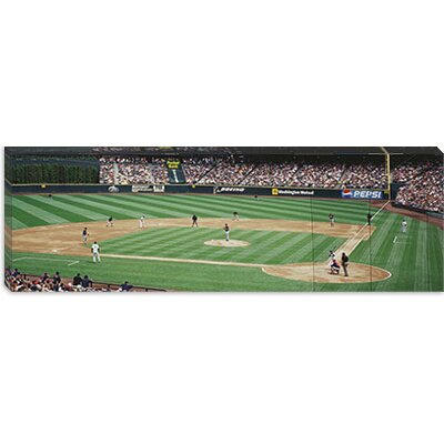 iCanvasArt Safeco Field Seattle Washington Canvas Wall Art
