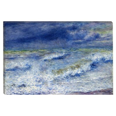 """La Vague 1879"" Canvas Wall Art by Pierre-Auguste Renoir"