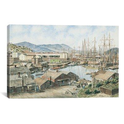iCanvasArt 'Yerba Buena Cove, San Francisco' by Stanton Manolakas Painting Print on Canvas