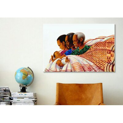 iCanvasArt 'Circle of Pride' by Keith Mallett Graphic Art on Canvas