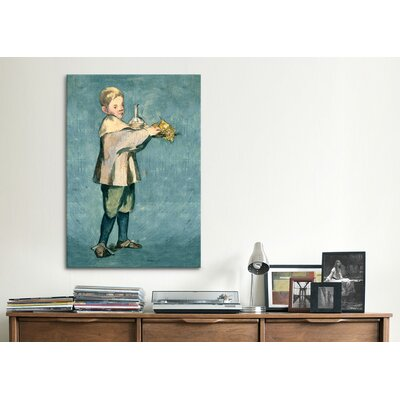 iCanvasArt 'Boy Carrying a Tray' by Edouard Manet Painting Print on Canvas