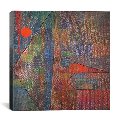 "iCanvasArt ""Ad Parnassum"" Canvas Wall Art by Paul Klee"