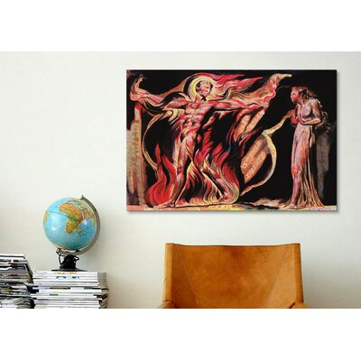 iCanvasArt 'Jerusalem the Emanation of The Giant Albion' by William Blake Painting Print on Canvas