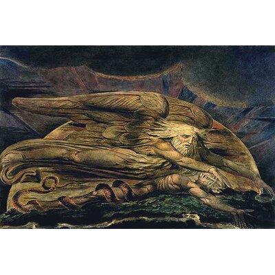 iCanvasArt 'Elohim Creating Adam' by William Blake Painting Print on Canvas
