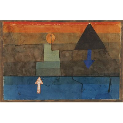 "iCanvasArt ""Contrasts 1924-1925"" Canvas Wall Art by Paul Klee"