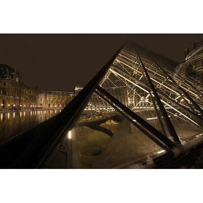 iCanvasArt 'Louvre' by Sebastien Lory Photographic Print on Canvas