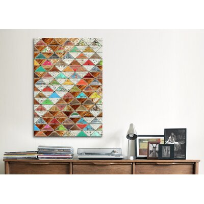 iCanvasArt 'Love Pattern' by Maximilian San Graphic Art on Canvas