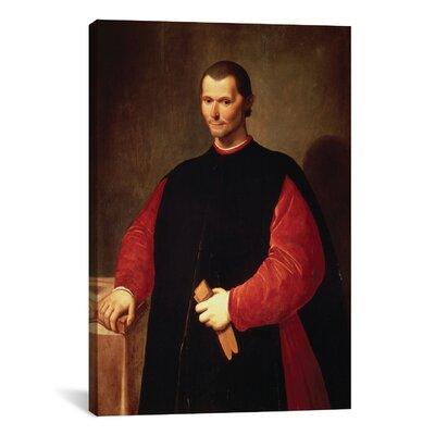 iCanvasArt Niccolo Machiavelli Portrait Painting Print on Canvas