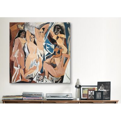 "iCanvasArt ""Les Demoiselles d'Avignon"" Canvas Wall Art by Pablo Picasso"