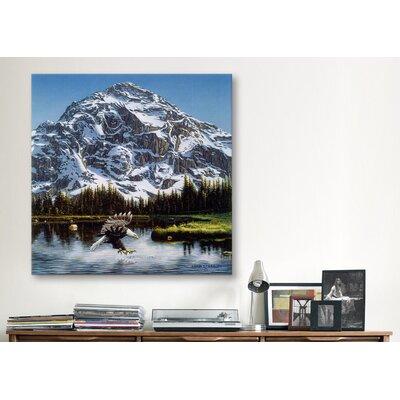 "iCanvasArt ""Mountain Majesty"" Canvas Wall Art by John Van Straalen"