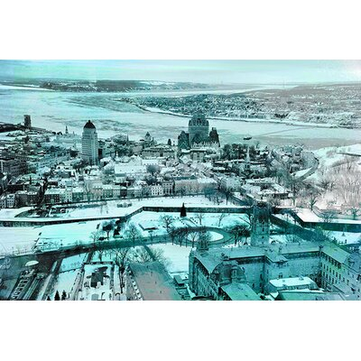 iCanvasArt Quebec City, Lower Town Canada #3 Photographic Print on Canvas