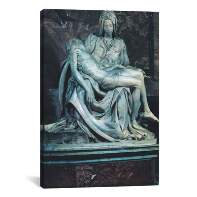 iCanvasArt 'Pieta' by Michelangelo Photographic Print on Canvas
