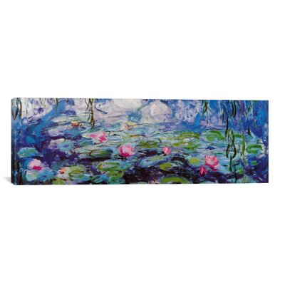 iCanvasArt 'Nympheas' by Claude Monet Painting Print on Canvas