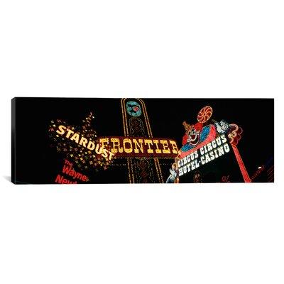 iCanvasArt Panoramic Montage Las Vegas, Nevada Photographic Print on Canvas