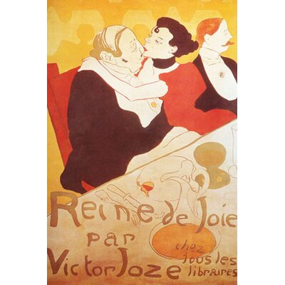 iCanvasArt Vintage Poster by Henri De Toulouse - lautrecosters Graphic Art on Canvas