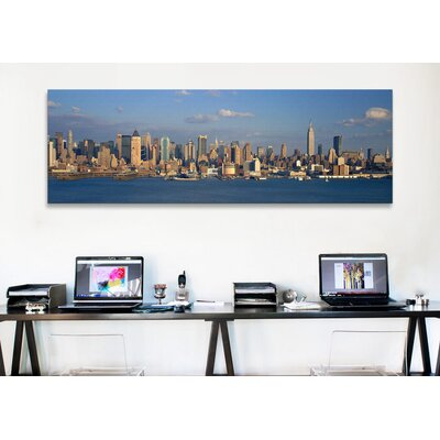 iCanvasArt Panoramic 'New York City, New York' Photographic Print on Canvas