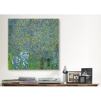 "iCanvasArt ""Rose, 1904"" Canvas Wall Art by Gustav Klimt"