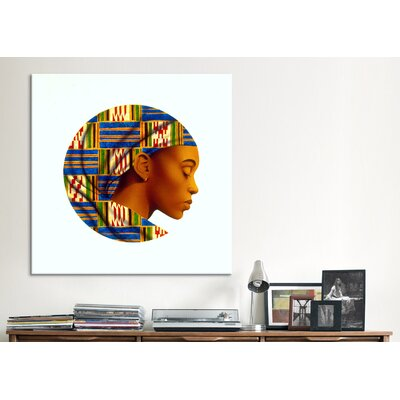 "iCanvasArt ""Uzuri"" Canvas Wall Art by Keith Mallett"