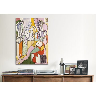 iCanvasArt 'Sculptor' by Pablo Picasso Painting Print on Canvas