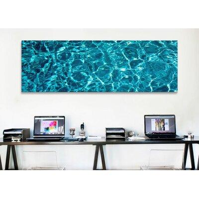 iCanvasArt Panoramic Swimming Pool Ripples Sacramento California Photographic Print on Canvas