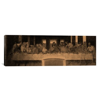 iCanvasArt 'The Last Supper IV' by Leonardo Da Vinci Painting Print on Canvas