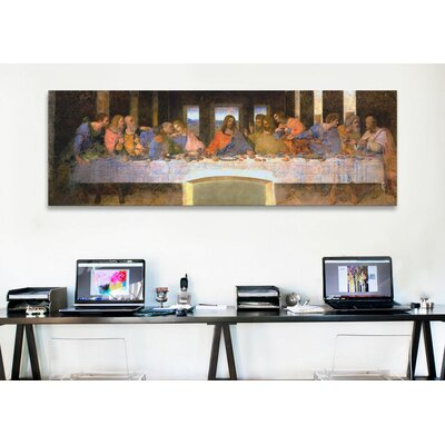 iCanvasArt 'The Last Supper' by Leonardo Da Vinci Painting Print on Canvas