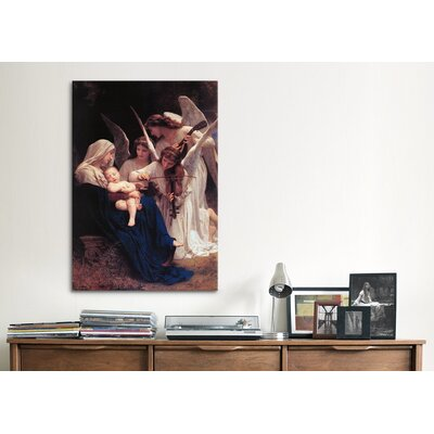 iCanvasArt 'Song of The Angels' by William-Adolphe Bouguereau Painting Print on Canvas