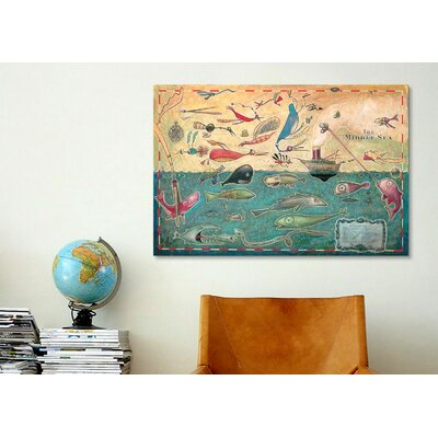 iCanvasArt 'Middle Sea' by Daniel Peacock Graphic Art on Canvas