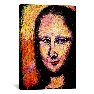 iCanvasArt Mona 002 Canvas Wall Art by Rock Demarco