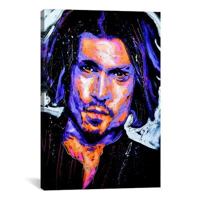 iCanvasArt Depp Art 001 Canvas Print Wall Art