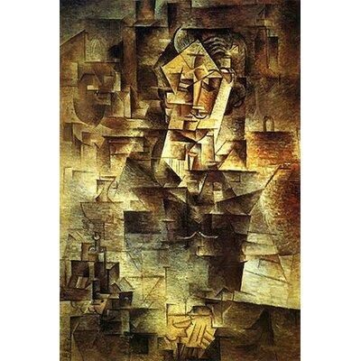 iCanvasArt Picasso Portrait Of Daniel-Henry Kahnweiler Canvas Print Wall Art