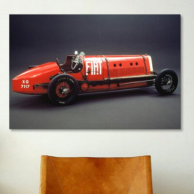 iCanvasArt Cars and Motorcycles 1923 Fiat Mephistopheles Photographic Print on Canvas