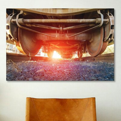 iCanvasArt 'Atomic Train' by Sebastien Lory Photographic Print on Canvas