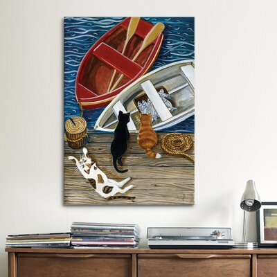 iCanvasArt The Days Catch by Jan Panico Painting Print on Canvas