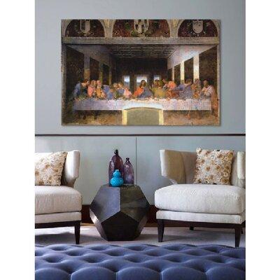 iCanvasArt 'The Last Supper' by Leonardo Da Vinci Painting Print on Canvas