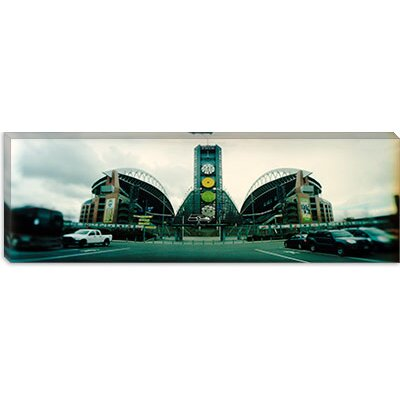 iCanvasArt Qwest Field, Seattle, Washington State Canvas Wall Art