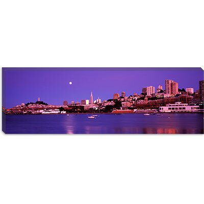 iCanvasArt Buildings at the Waterfront, San Francisco, California Canvas Wall Art