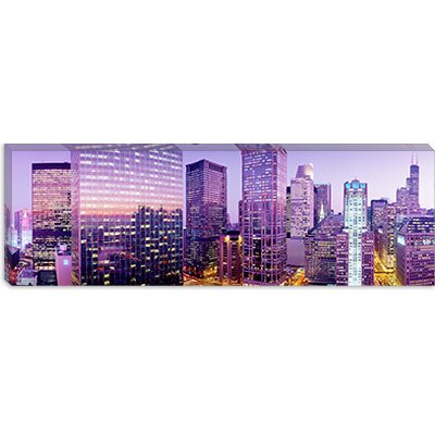 iCanvasArt Chicago IL Canvas Wall Art