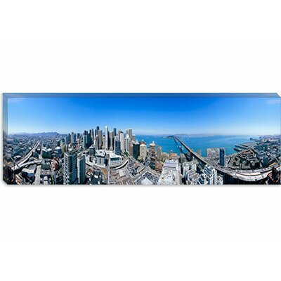 iCanvasArt Rincon Hill, San Francisco, California Canvas Wall Art