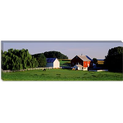 iCanvasArt Farm, Baltimore County, Maryland Canvas Wall Art