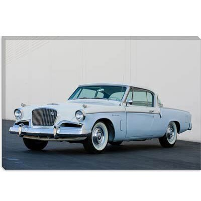 iCanvasArt 1956 Studebaker Sky Hawk Coupe Canvas Wall Art