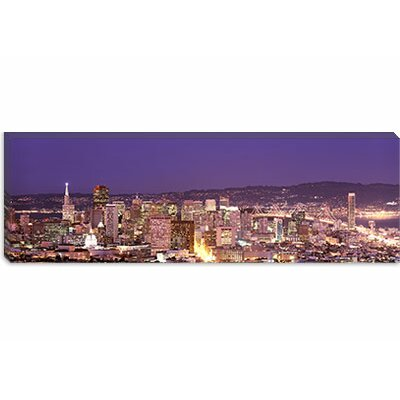 iCanvasArt San Francisco, California Canvas Wall Art