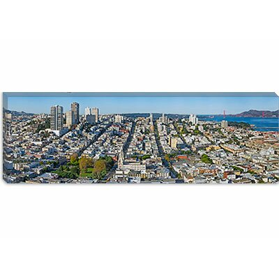 iCanvasArt Coit Tower, Telegraph Hill, San Francisco, California Canvas Wall Art