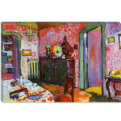 39 Interior My Dining Room 39 By Wassily Kandinsky Painting Print On Ca