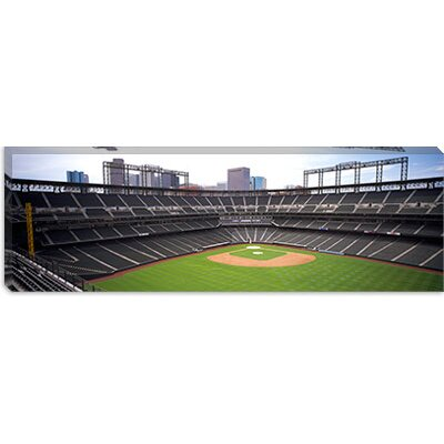 iCanvasArt Coors Field Denver, Colorado Canvas Wall Art