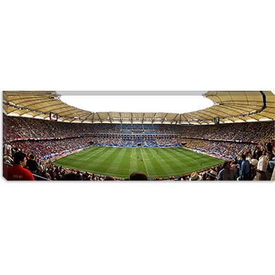 iCanvasArt Stadium to Watch a Soccer Match, Hamburg, Germany Canvas Wall Art