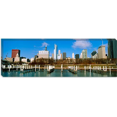iCanvasArt Columbia Yacht Club, Chicago, Illinois Canvas Wall Art