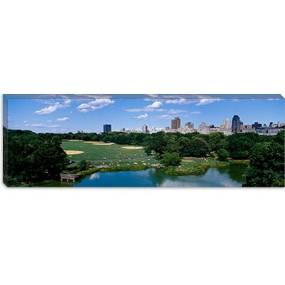 iCanvasArt Great Lawn of Central Park, New York City Canvas Wall Art