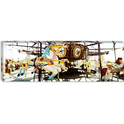 iCanvasArt Coney Island, Brooklyn, New York City Canvas Wall Art