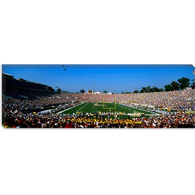 iCanvasArt The Rose Bowl, Pasadena, California Canvas Wall Art